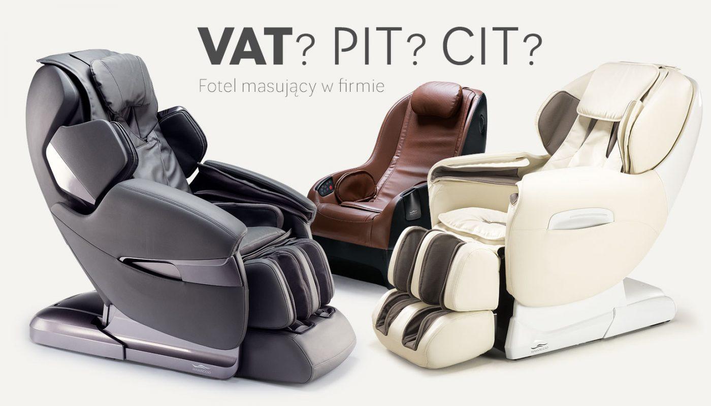 Fotel masujący do firmy - jak go rozliczyć
