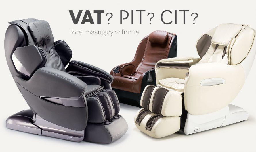 Fotel masujący do firmy. Czy da się go rozliczyć?